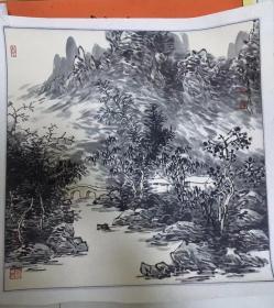 河北省美术家协会会员刘俊群山水