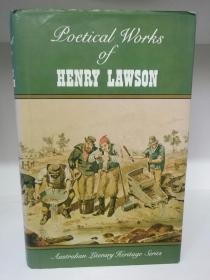 亨利·劳森诗集 Poetical Works of Henry Lawson (澳大利亚文学/诗歌)英文原版书