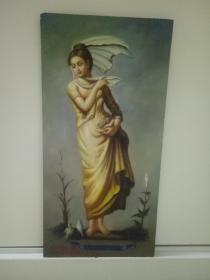 美少女与鸽子。
