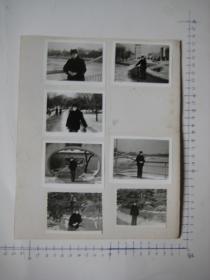 照片  黑白老旧照片   59 【 照片上的合售】