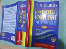 TIMES-CHAMBERS essential english dictionary/英文原版书/软装书/新加坡牛津大学出版社