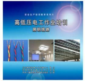 正版 2019年安全月 高低压电工作业培训---照明线路1DVD9DH