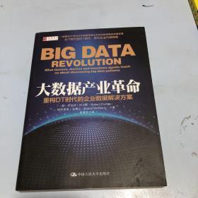 大数据产业革命:重构DT时代的企业数据解决方案
