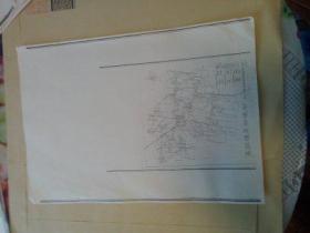 孟庄镇文献   清华大学著名教授朱祖成旧藏   1989年清华大学建筑学院城市规划系   孟庄镇总体规划
