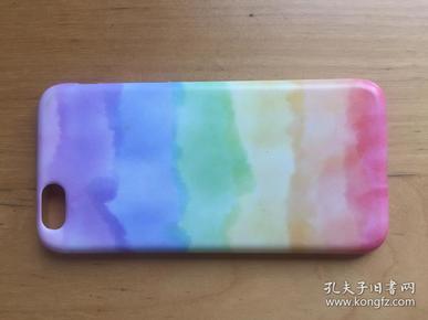 iPhone 6 手机壳 橡胶材质   (彩虹)