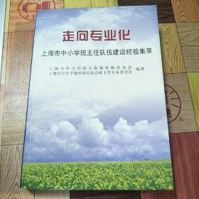 走向专业化:上海市中小学班主任队伍建设经验集萃