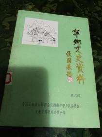 宁乡文史资料(第六辑)作者黄国祥