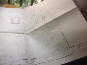 日本有名庭园实测图纸 第六组 13-14号 醍醐寺  + 醍醐寺旧三宝院迹 无量光院迹 共两张图纸