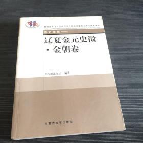 辽夏金元史征(元朝卷)