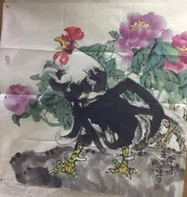 周昭平国画作品5 保真