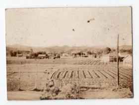 民国报纸图片类----民国原版老照片--1930年前后时间,日本农村1