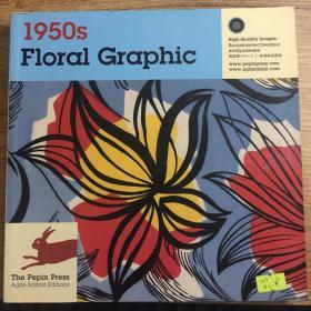 1950s Floral Graphic花卉图案(1CD)