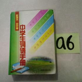 中学生词语手册--满25包邮!