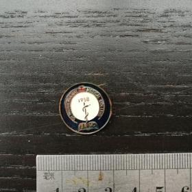 老 徽章 纪念章 上海铁道医学院 1958