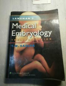 LANGMANS medical embryology  外文