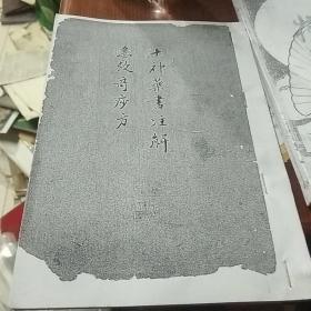 十神药书注解急救奇痧方