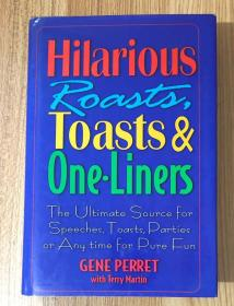 Hilarious Roasts, Toasts & One-Liners 9781578661237
