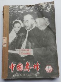中国养蜂(1980年1一6期)合售