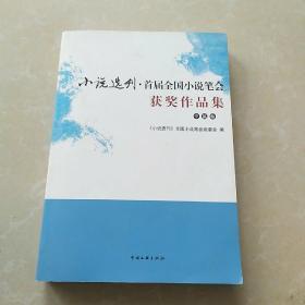 小说选刊 首届全国小说笔会获奖作品集 中篇卷