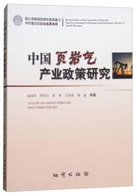 中国页岩气产业政策研究