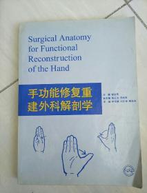 手功能修复重建外科解剖学