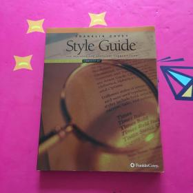 FRANKLIN COVEY STYLE GUIDE 带光盘