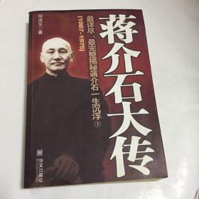 蒋介石大传 下
