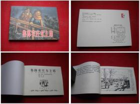 《集体农庄女主席》,50开刘文颉绘,学林2009.7出版,5774号,连环画