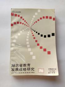 湖北省教育发展战略研究(库存未阅)