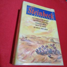 JOHN STEINBECK-THE GRAPES OF WRATH THE MOON IS DOWN CANNERY ROW EAST OF EDEN OF MICE AND MEN(精装16开请看图)
