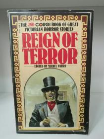 维多利亚时代恐怖故事 Reign of Terror:The 2nd Corgi Book of Great Victorian Horror  Stories (恐怖小说)英文原版书