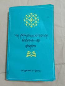 中小学生藏语文词语解释集(藏文)