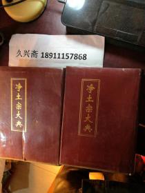 净土宗大典  3卷、4卷,4卷书壳列印见图