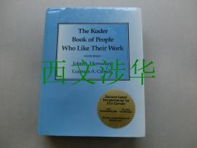 【现货 包邮】《The Kuder Book of People Who Like Their Work》 1995年初版