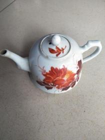 民国江西瓷茶壶