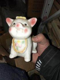 陶瓷摆件 存钱罐  猪