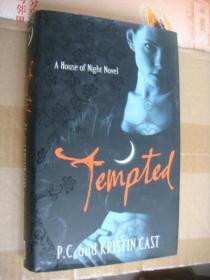 Tempted ( A house of night novel) 英文原版大20開 精裝+書衣 近新