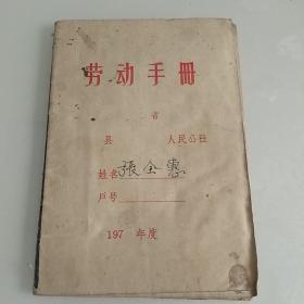 劳动手册记攻表