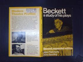 Beckett: A study of his plays(详见图)