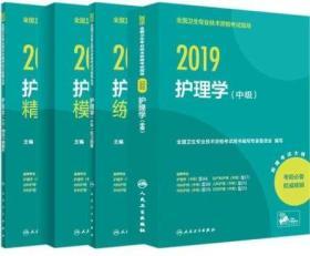 正版2019年全国卫生专业技术资格考试 护理学(中级)全套4本 中级主管护师 人卫版