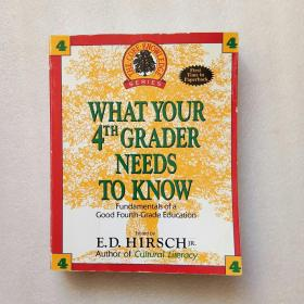 What Your 4th Grader Needs to Know(英文原版)实物拍摄、看图