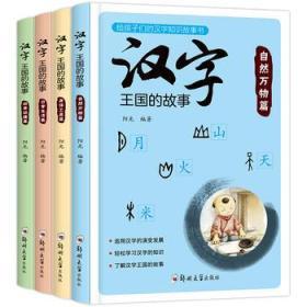 汉字王国的故事全4册 正版 阳光  9787564538149