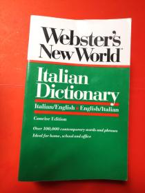 Websters New World Italian Dictionary
