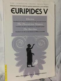 欧里庇得斯剧作选 Euripides : Electra The Phoenician Women The Bacchae