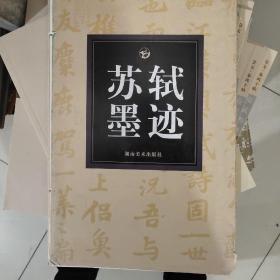 中国历代法书名碑原版放大折页之13:苏轼墨迹