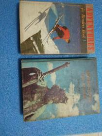 英文原版 精装厚册 内配彩色图片ADVENTURES FOR READERS BOOK TWO 《读者冒险》第二册 Adventures For Readers (Book Two, Classic Edition) 英文原版 精装厚册 内配彩色图片ADVENTURES FOR READERS BOOK 1《读者冒险》  两册合售 馆藏