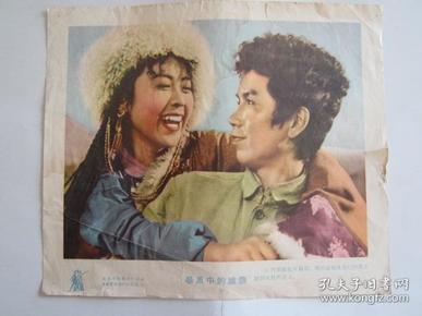 建国初期电影宣传画:暴风中的雄鹰(长春电影制片厂出品·中国电影发行公司发行)