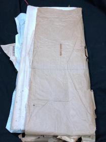 特甲竹棉四尺单宣  86张 有报纸包裹 报纸年代为1976年 约七十年代生产 品牌/具体生产年月不详