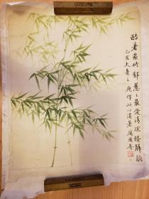 厉国香  竹