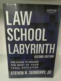 Law School Labyrinth : The Guide to Making the Most of Your Legal Education by Steven Sedberry(法律)英文原版书